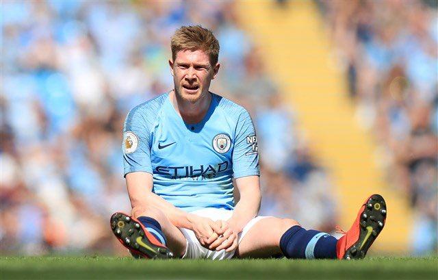 MU dễ thở khi Man City nhận tin xấu về De Bruyne trước trận derby