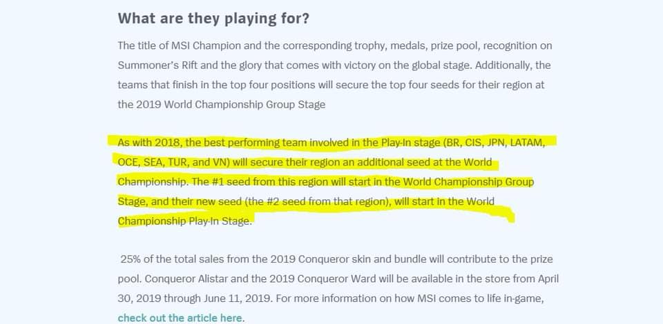 Riot tạo thêm cơ hội để Việt Nam có thêm đại diện tham gia đấu trường CKTG 2019