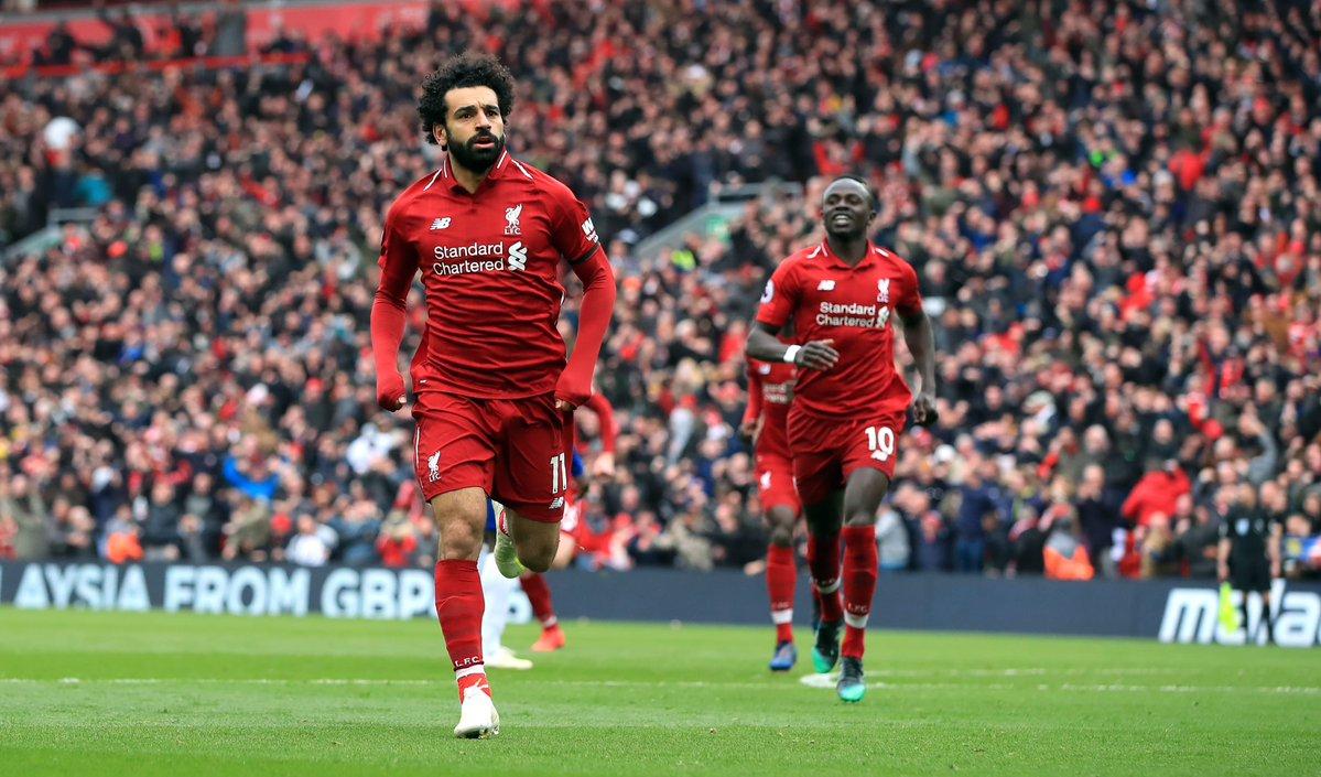 Salah, Mane tạo dấu mốc mới và những điểm nhấn từ trận Liverpool vs Huddersfield