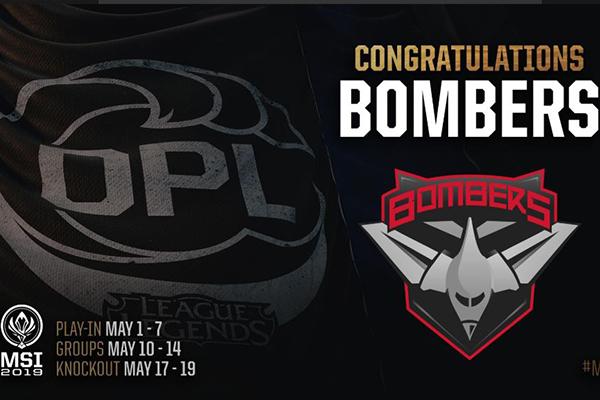 Bombers -  Đối thủ đầu tiên của Phong Vũ Buffalo tại MSI 2019