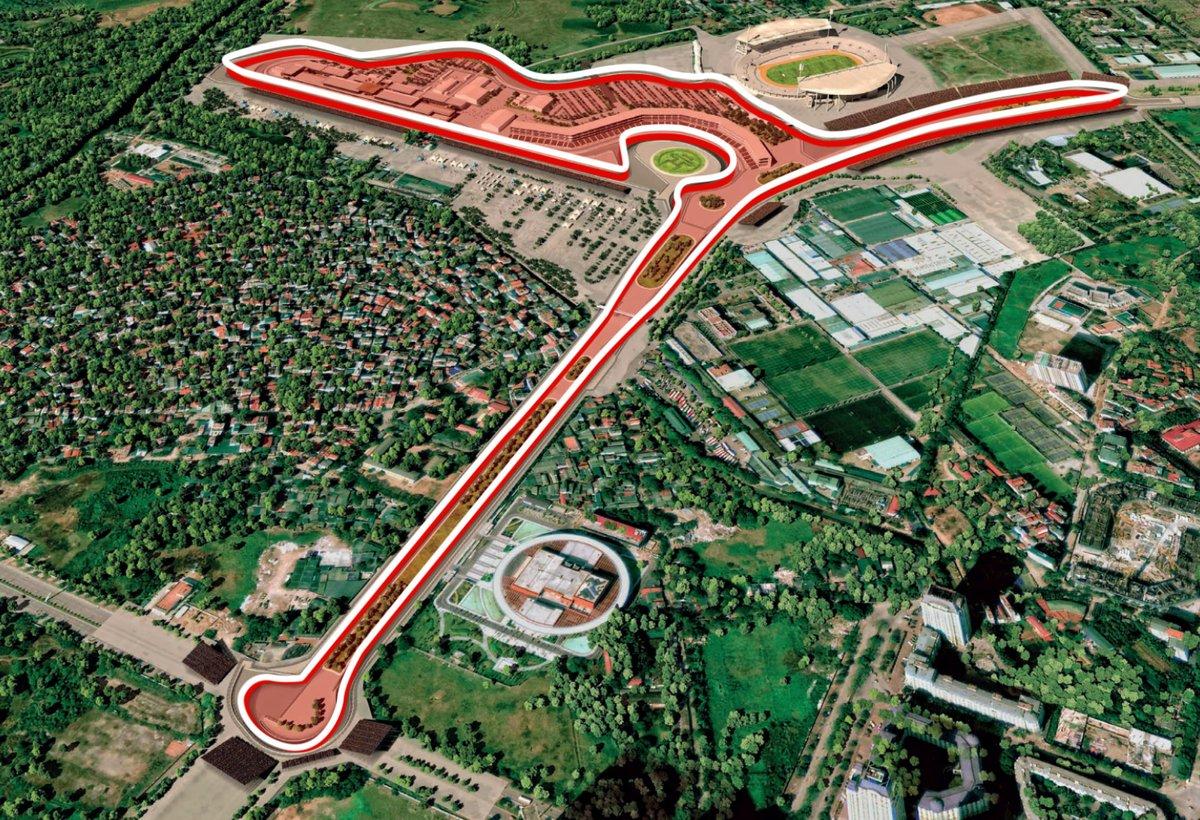 Đường đua F1 Việt Nam: Các tay đua sẽ hoàn thành 1 vòng trong bao lâu?