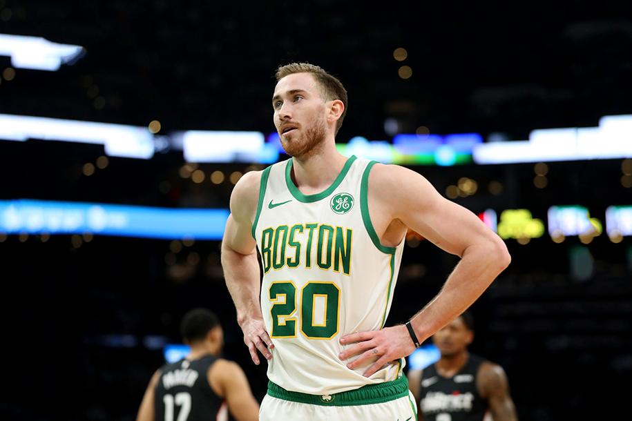 Tại Boston Celtics, cái tên bất khả xâm phạm hiện nay lại là Gordon Hayward