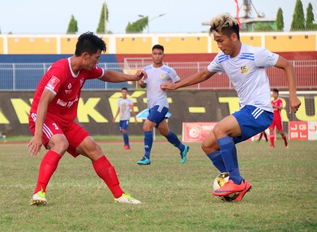 Bảng xếp hạng hạng Nhất 2019 vòng 16: Hà Tĩnh giữ vững ngôi đầu