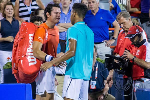 Milos Raonic rời Rogers Cup do chấn thương: Nghề chơi tennis thật mong manh!