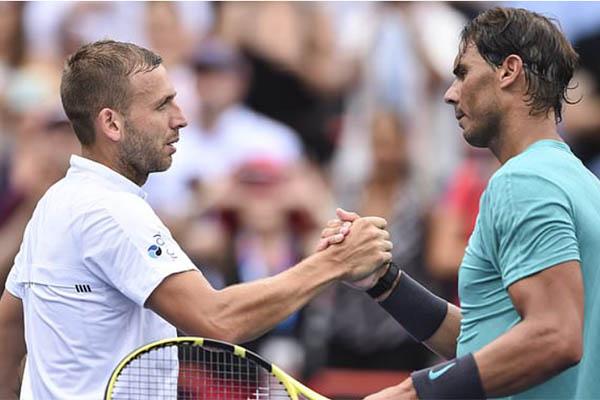 Rogers Cup 2019: Nadal rỉ sét vẫn vào vòng 1/8