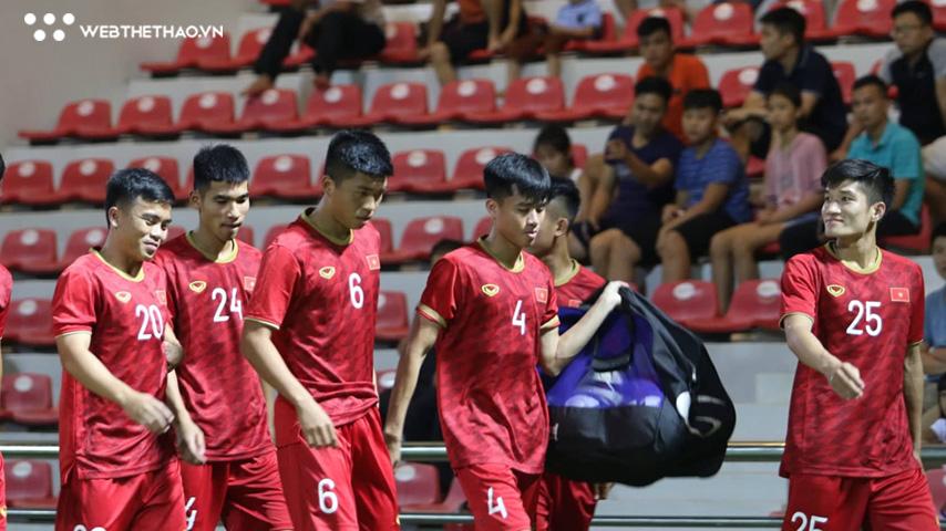 Tân binh U22 Việt Nam bị phạt nguội vì hành vi bạo lực