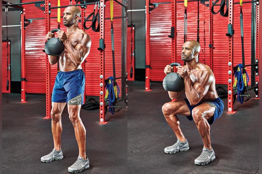 6 bài tập squat cho đôi chân rắn chắc như đồng