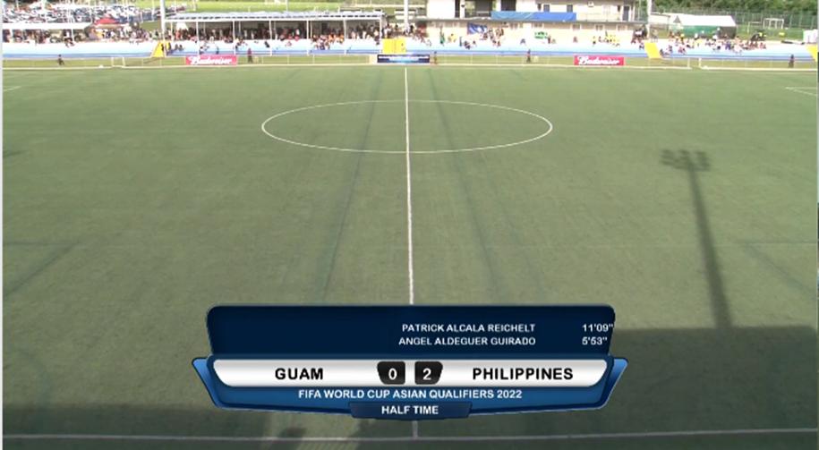 Kết quả Guam vs Philippines (FT 1-4): Ba điểm đầu tiên