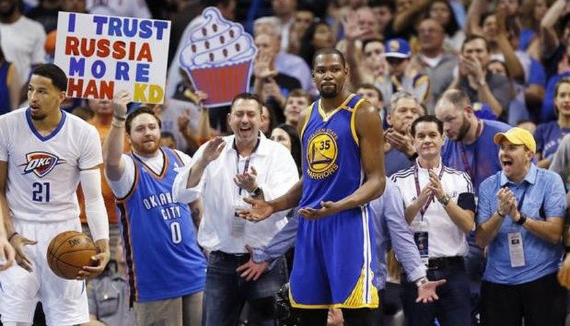 Kevin Durant: Họ coi chúng tôi là KD và Warriors