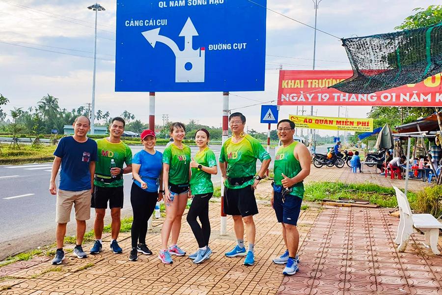 """Cần Thơ Heritage Marathon 2019 chào đón nhóm chạy """"cây nhà lá vườn"""" Mekong Delta Runners"""