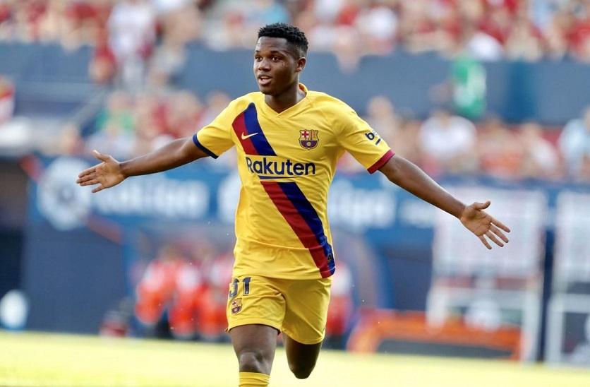 Barca chứng kiến Ansu Fati lập 3 kỷ lục khó tin trong 2 tuần