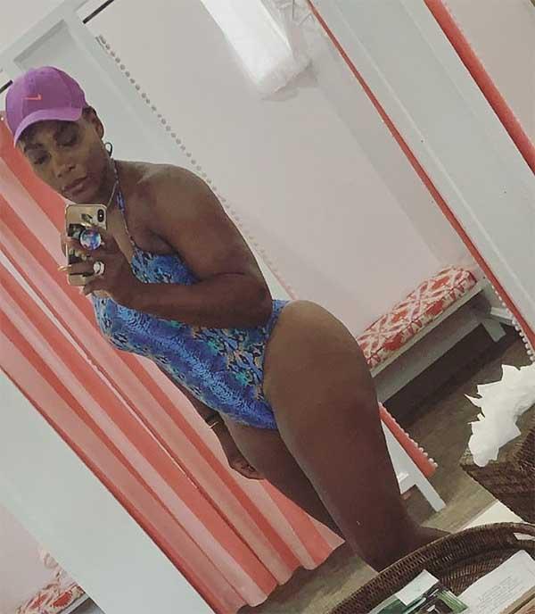 Serena Williams tự tin khoe body, sau khi khoe tài thiết kế thời trang