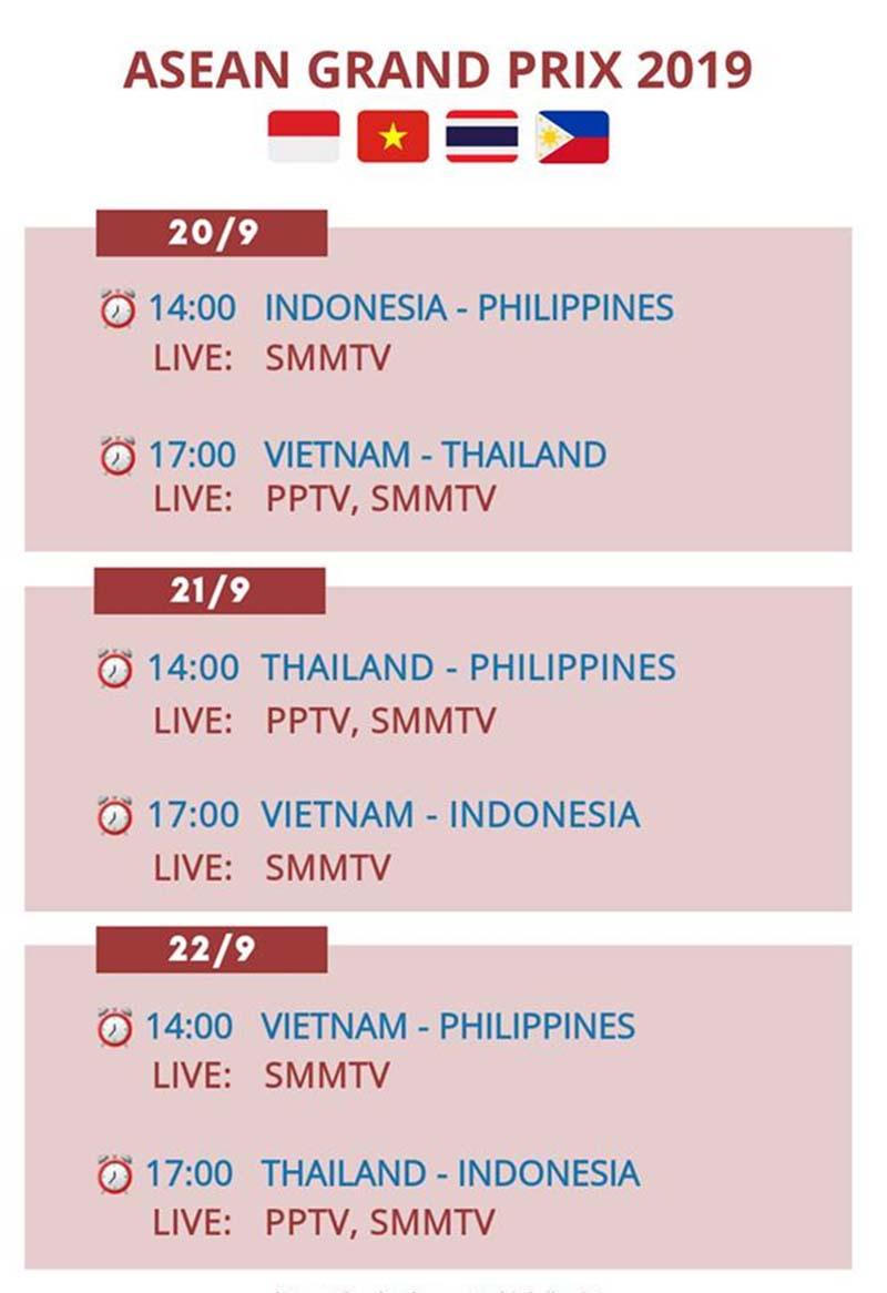 Lịch thi đấu bóng chuyền nữ hôm nay 21/9: Tâm điểm Việt Nam vs Indonesia