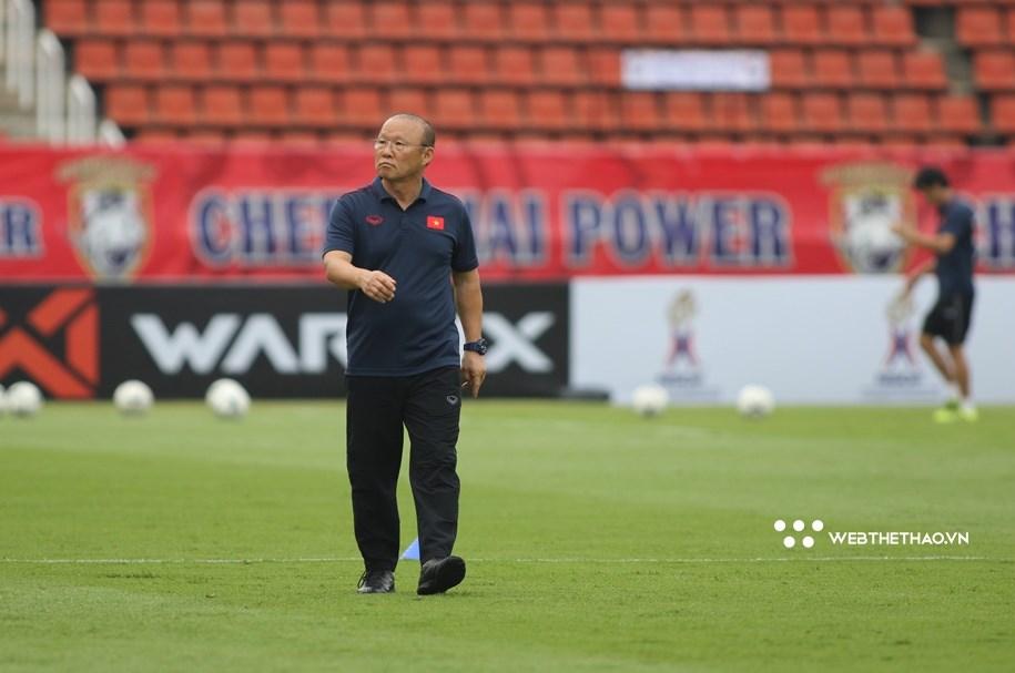 Nhìn gương Guus Hiddink, thầy Park cũng lo sợ bị sa thải