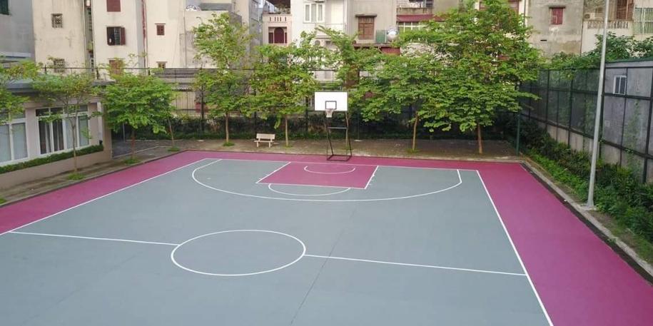 Địa chỉ sân bóng rổ quận Tây Hồ, Hà Nội