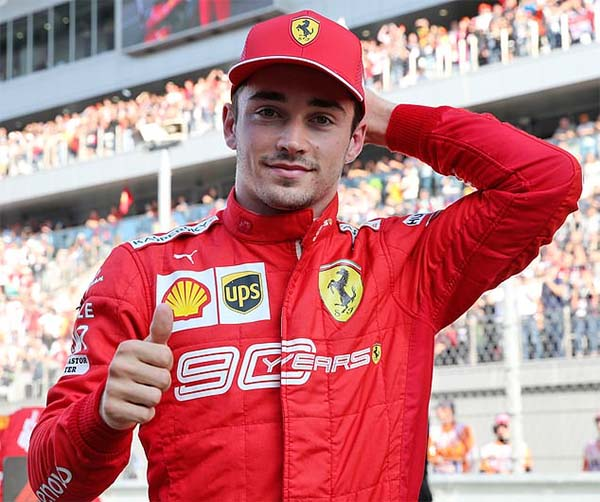 Vòng loại Grand Prix Nga: Lewis Hamilton lại để Charles Leclerc chiếm pole