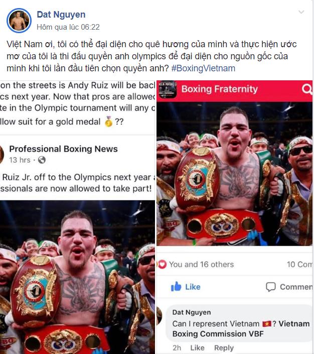 Võ sĩ gốc Việt Đạt Nguyễn nói về chiến thuật thi đấu nếu anh đại diện Việt Nam tại Olympics