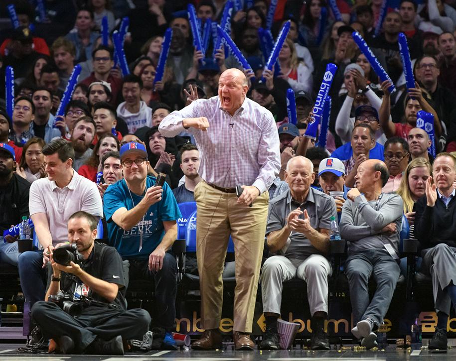 Ông chủ LA Clippers trở thành chủ sở hữu đội thể thao giàu nhất thế giới