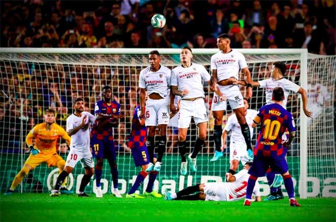 Barca có nhiều sát thủ nhất 5 giải VĐQG hàng đầu châu Âu