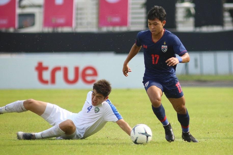 Tiếp tục thua phút cuối, U19 Thái Lan trắng tay trên sân nhà