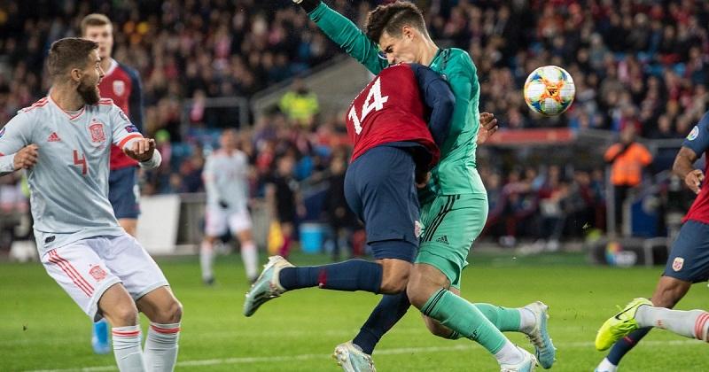 Tây Ban Nha chưa thể giành vé Euro 2020 vì quyết định không có VAR