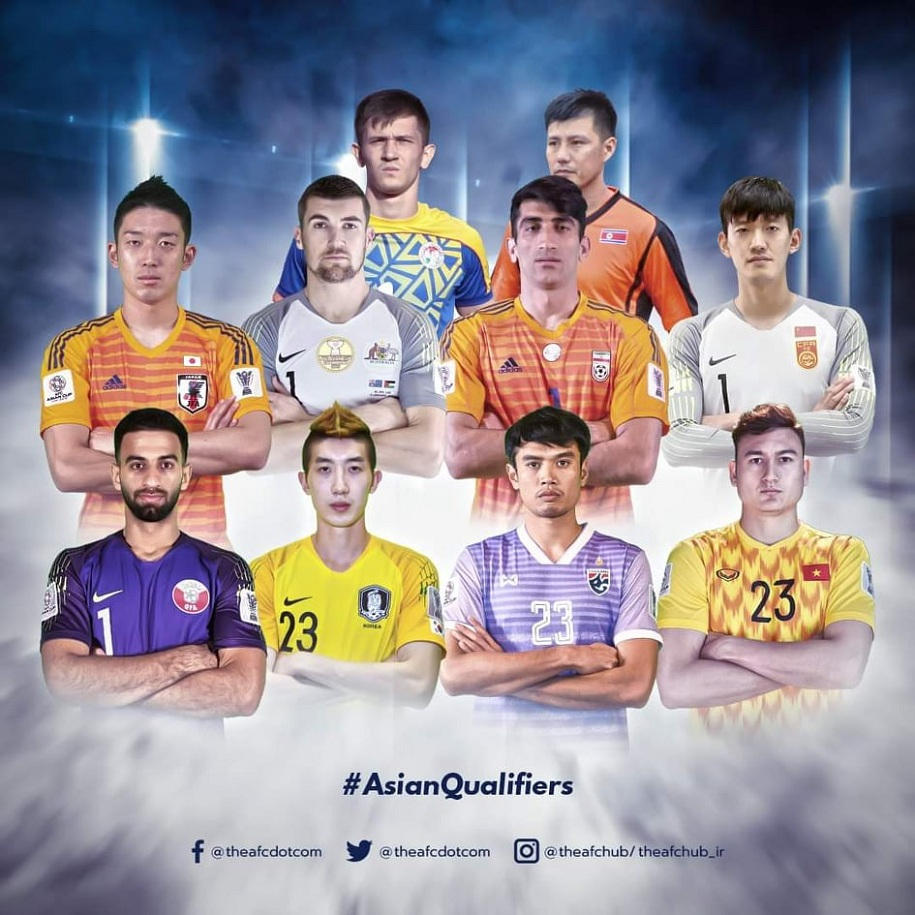 Đặng Văn Lâm là một trong 10 thủ môn giữ sạch lưới ở VL World Cup 2022