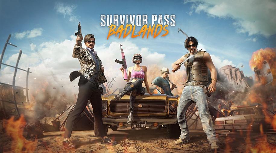 PUBG cập nhật 5.1 cùng Survivor Pass 5: Badlands
