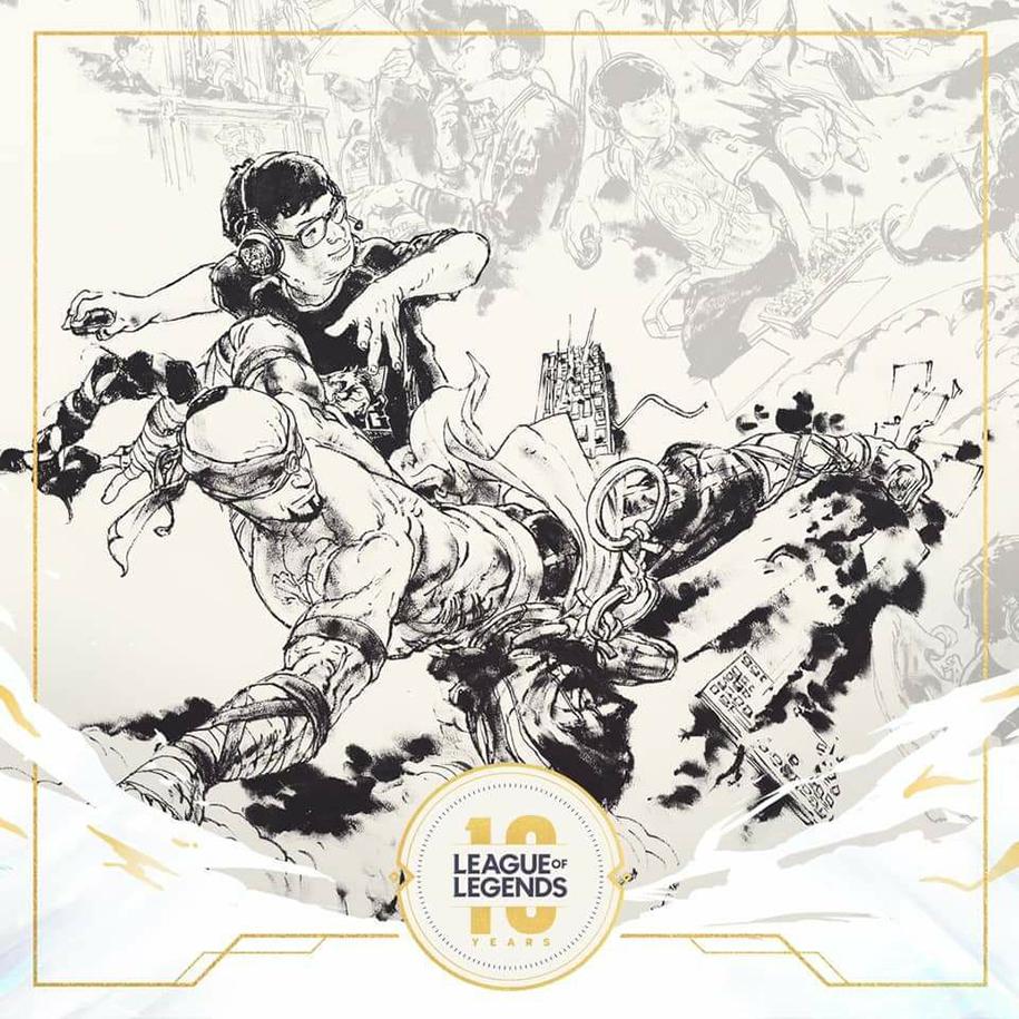 SofM xuất hiện trong clip kỷ niệm LMHT 10 năm của Riot Games