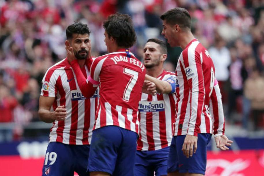 Kết quả Atletico Madrid vs Valencia (FT: 1-1): Chia điểm từ bóng chết
