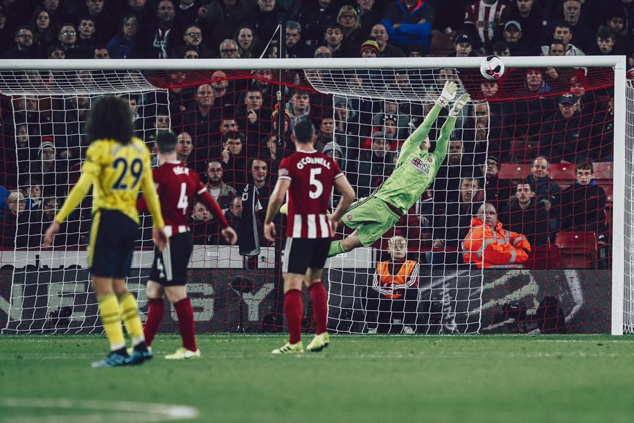 Vấp ngã trước Sheffield United, Arsenal bị bật khỏi Top 4