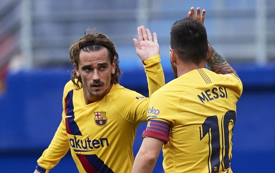 Bí mật tỏa sáng của Griezmann với Barca là một hậu vệ