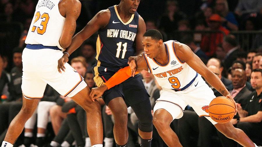 New York Knicks đã rất tuyệt vọng khi Durant và Irving gia nhập Nets