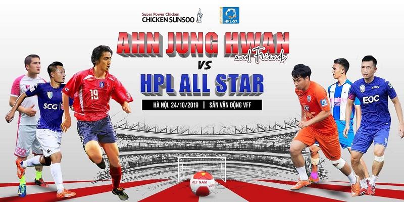 Huyền thoại bóng đá Hàn Quốc Ahn Jung Hwan lần đầu xuất hiện tại HPL