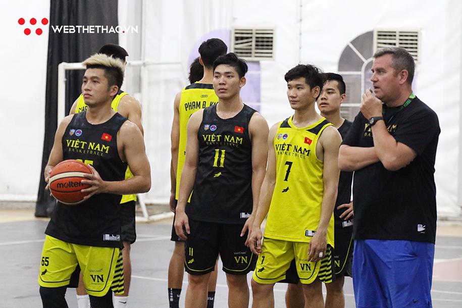 Tổng kết tuần đầu hội quân của đội tuyển bóng rổ Việt Nam
