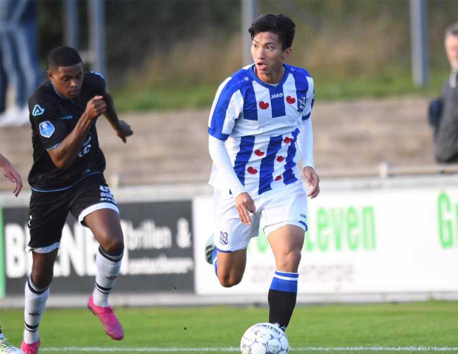 Kết quả U21 Jong De Graafschap vs U21 Jong Heerenveen (FT 1-3): Văn Hậu kiến tạo đầu tiên
