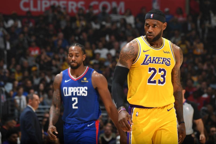 Kawhi Leonard và LA Clippers nhấn chìm LA Lakers trong ngày khai màn NBA