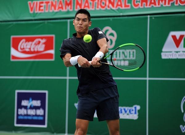 Giải quần vợt VĐQG 2019: Thái Sơn Kwiatkowski vào bán kết cả đơn lẫn đôi