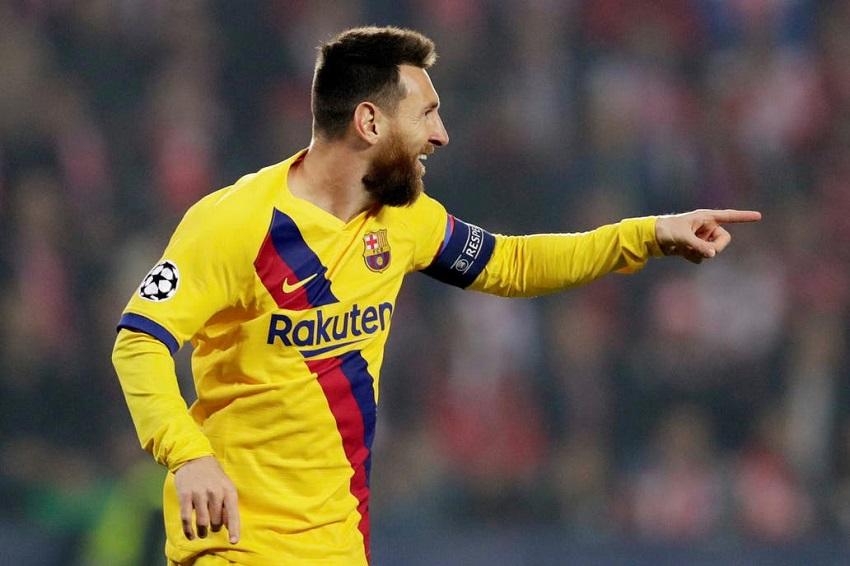 Messi san bằng kỷ lục của Ronaldo và Raul ở Cúp C1 cùng Barca