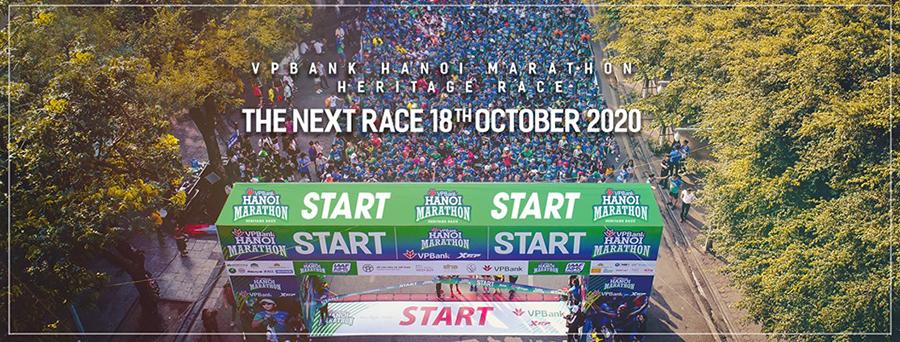 VPBank Hanoi Marathon Heritage Race 2020 chốt ngày tổ chức