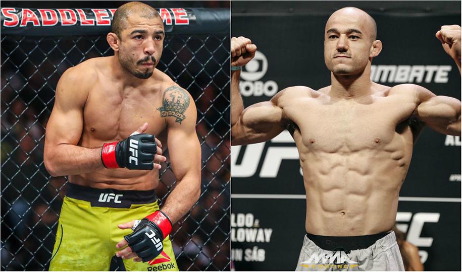Jose Aldo xuống hạng Bantamweight, đối đầu Marlon Moraes tại UFC 245