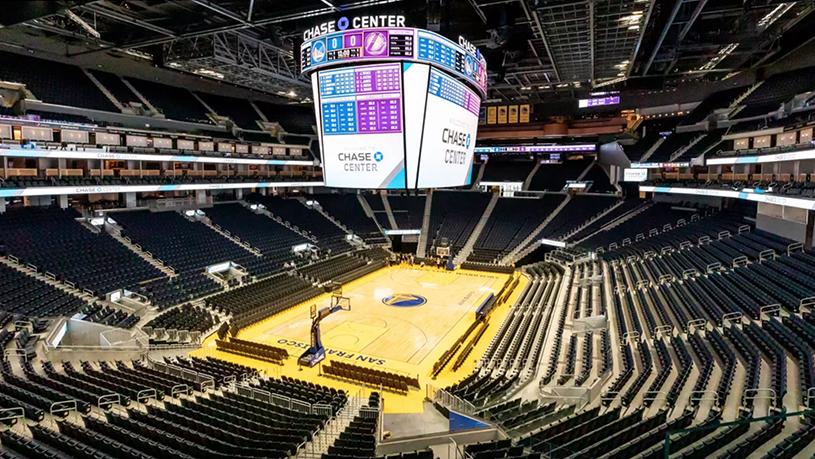 Choáng ngợp trước doanh thu dự kiến từ sân nhà mới của Golden State Warriors
