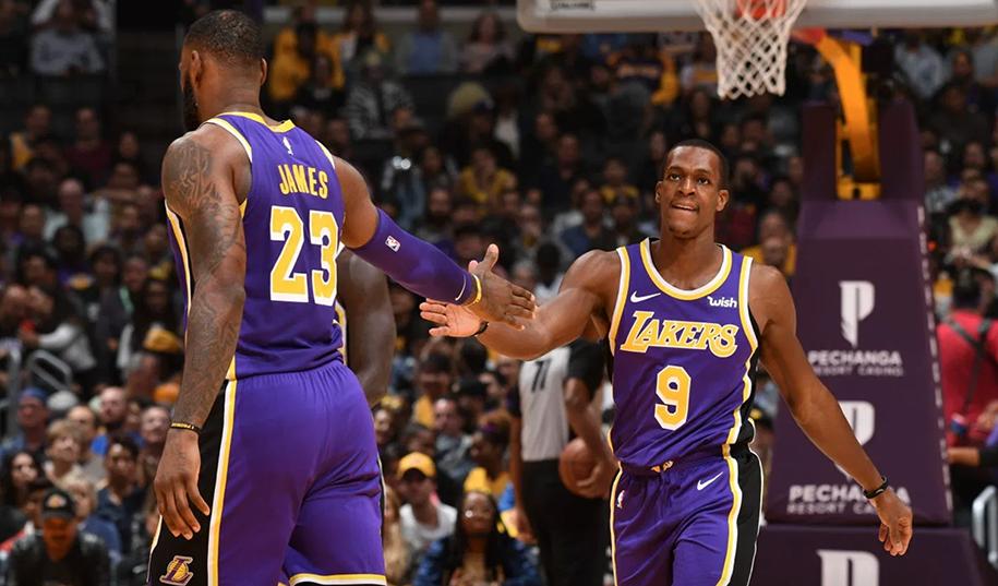 Vị trí PG chính ở LA Lakers: Không phải LeBron James mà phải là Rajon Rondo