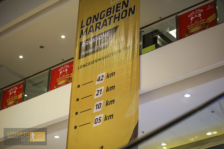 Longbien Marathon 2019 có tổng giải thưởng gần 650 triệu đồng