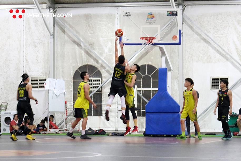 Kết quả trận đấu tập thứ ba của đội tuyển bóng rổ Việt Nam