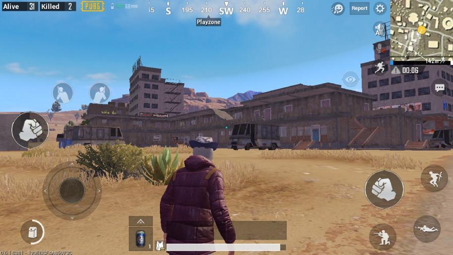 Đỉnh tòa nhà El Pozo trong PUBG Mobile ở đâu?