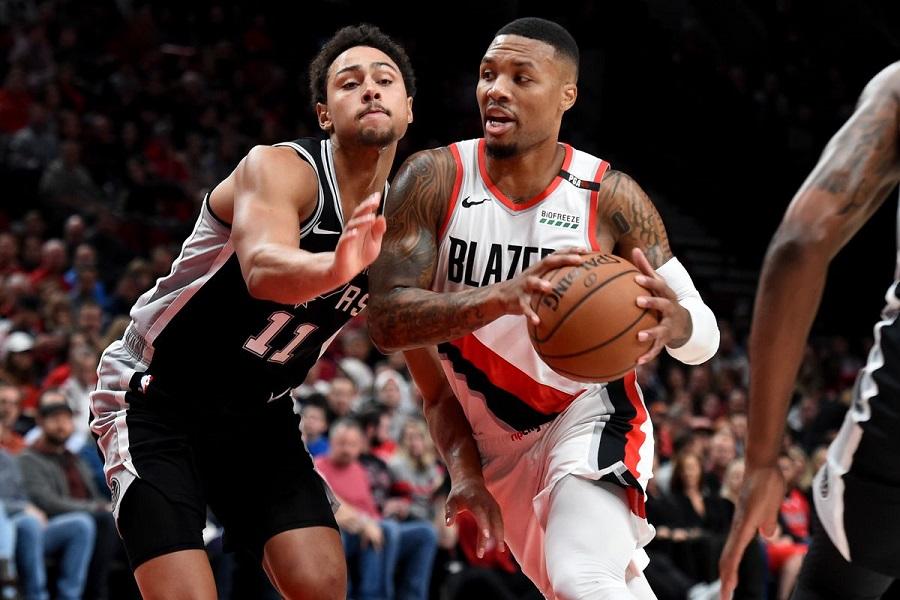 Nhận định NBA: San Antonio Spurs vs Portland Trail Blazers (ngày 29/10, 7h30)