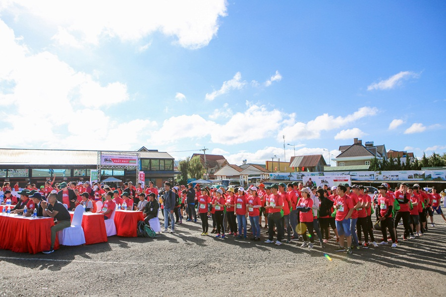 Langbiang Trail 2019 vượt tầm một giải chạy địa hình thông thường