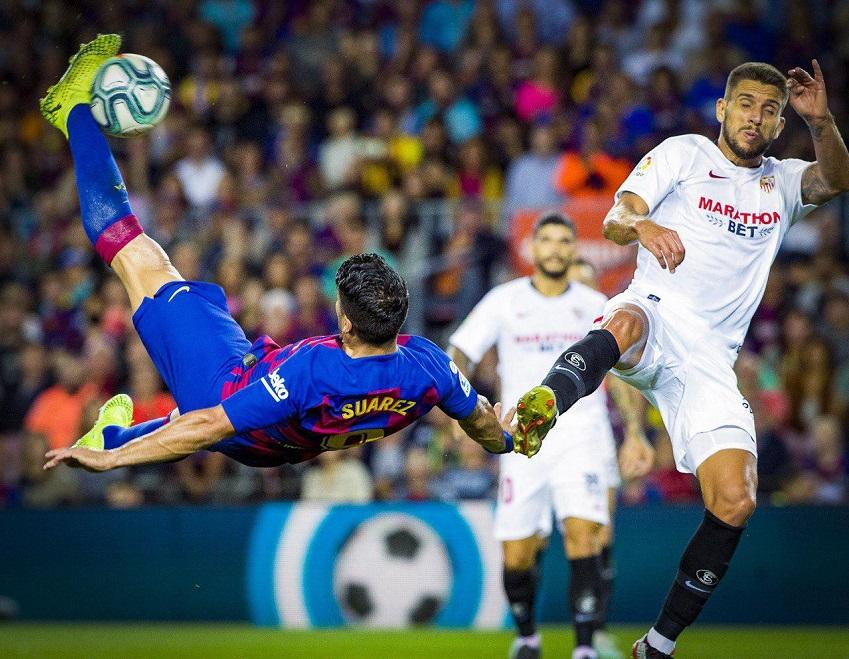Suarez chuẩn bị đạt chuỗi ghi bàn tốt thứ 3 sự nghiệp với Barca