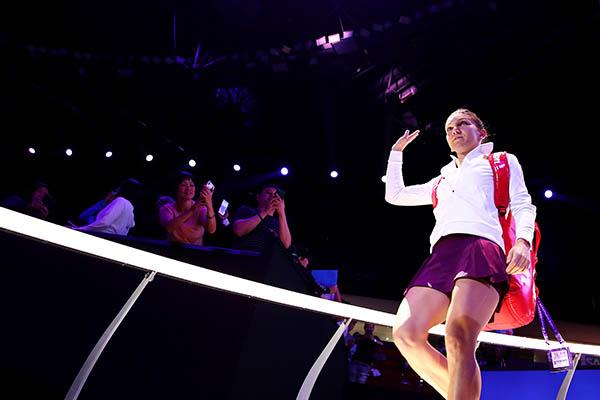 WTA Finals 2019: Kiki Bertens thay thế Naomi Osaka ở bảng Đỏ