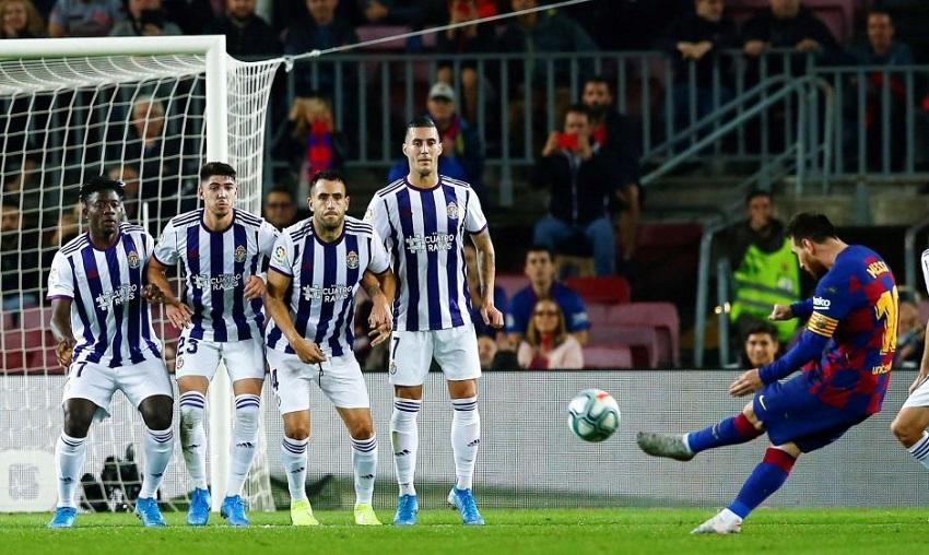 Messi cán mốc 100 bàn cho Barca dưới thời Valverde